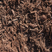 bulk landscape mulch brown