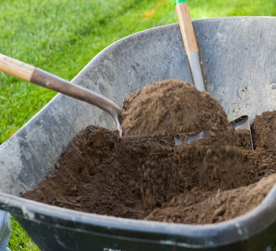 top soil and sand for landscaping